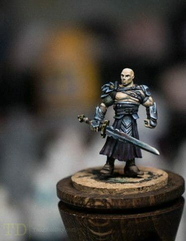 Non-Metallic Metal (NMM) Sword (Blending with the Loaded Brush Technique)