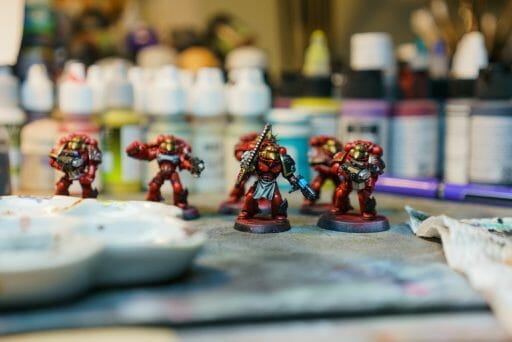 Dry Palettes for Painting Miniatures: Better Than Wet?