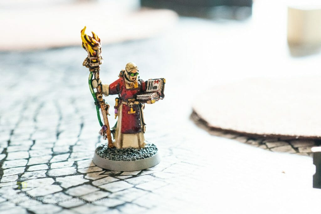 Tabletop Standard vs. Display Level Painting [Criteria] - how to paint tabletop standard miniatures and models - what is battle ready painting in warhammer 40k? Battle ready standard in wargaming - How to paint battle ready tabletop standard models - close up of a high tabletop standard miniature painting