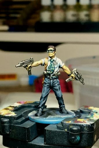 Dry Palettes for Painting Miniatures: Better than a Wet Palette?  painting with a dry palette is faster than a wet palette
