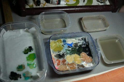 Best Paper for Wet Palette (Recommendation) - parchment paper DIY