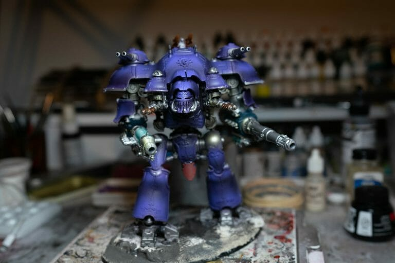 How to Paint an Imperial Knight (8 Easy Steps)