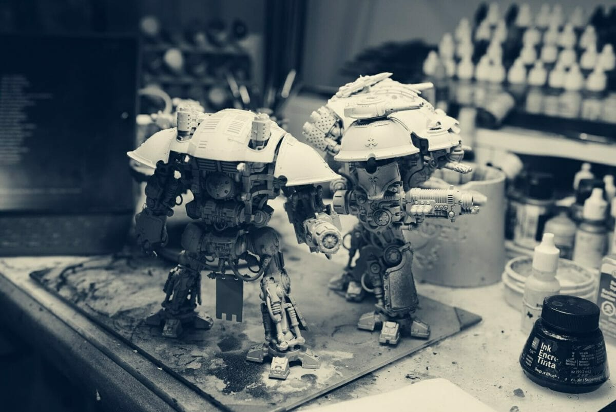 Miniature Painting Slump? I'm Try This with Neuroscience