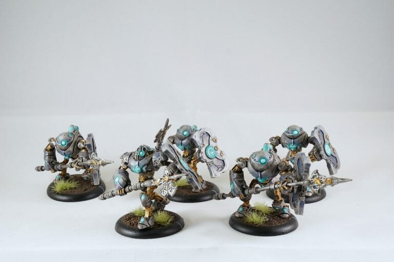 how money ruins a hobby - why paint miniatures for money -convergence of cyriss miniatures painted for warmachine
