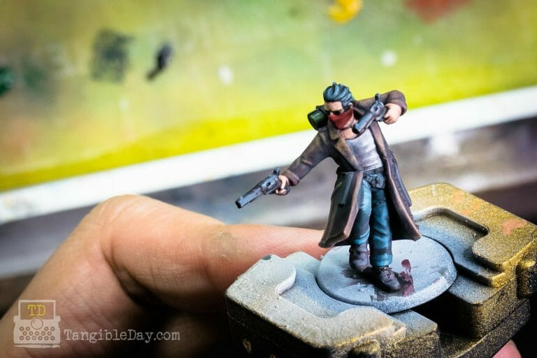 Painting a HeroForge 3D Printed Miniature: A Gun Mage (Quick Overview)