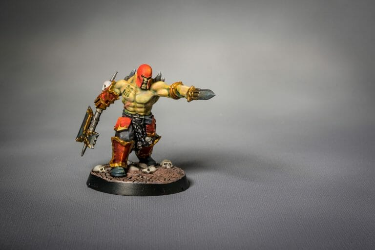 Citadel Contrast Paints: Worth It? (Contrast Paint Review) - flesh and skin
