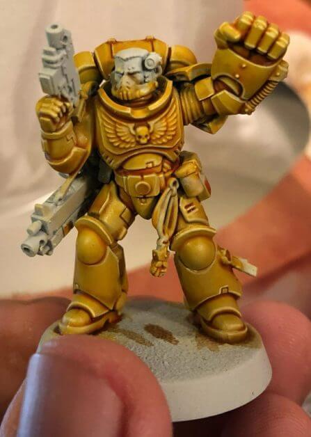Citadel Contrast Paints: Worth It? (Contrast Paint Review) - yellow