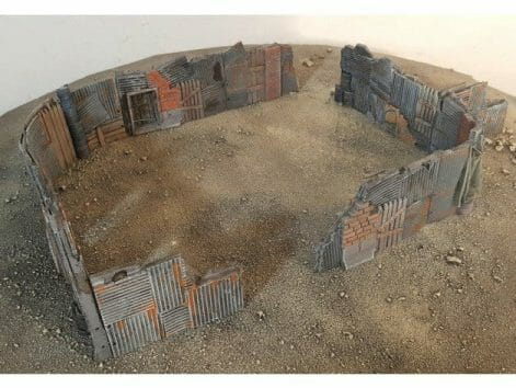 3 Awesome Ways to Make Wargaming Terrain (Cheap, Easy, and Free) - low cost cheap DIY wargaming terrain for Warhammer 40k, Age of Sigmar, and other tabletop games, DND terrain making, dungeon and dragon terrain for RPG - gaming terrain 3d printing