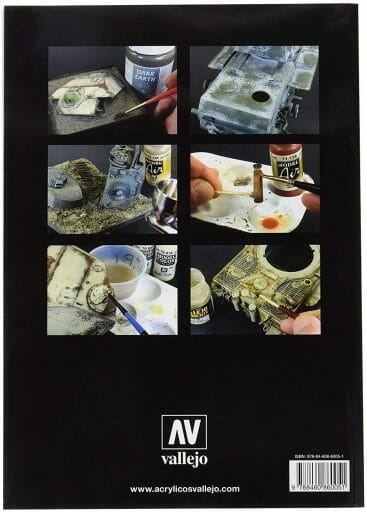 21 Great How-To Books for Painting Miniatures in 2020! (So Far) - vallejo airbrush and weathering techniques back cover