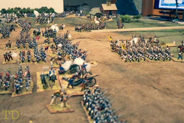Best historical wargame for tabletop gamers - Carnage and Glory II miniature tabletop wargame - tactical miniature wargaming - best historical miniature wargame - Carnage and Glory Gameplay Review - a lot of miniatures