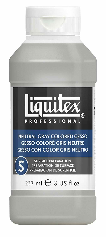 Gray-Gesso-Liquitex