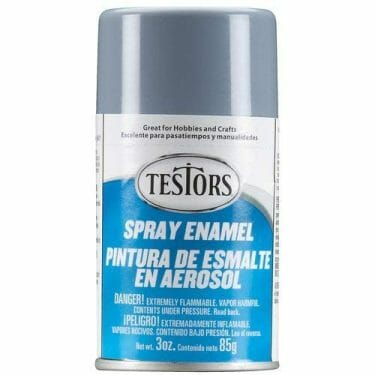 Top 10 Primers for Plastic and Metal Miniatures (Reviews and Tips) - acrylic sandwich - best primer for plastic models - best brush on primers for metal miniatures and models - best spray primer for models - Testors spray enamel primer for models and wargaming miniatures
