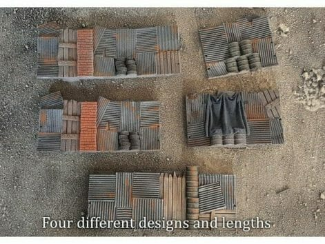 3 Awesome Ways to Make Wargaming Terrain (Cheap, Easy, and Free) - low cost cheap DIY wargaming terrain for Warhammer 40k, Age of Sigmar, and other tabletop games, DND terrain making, dungeon and dragon terrain for RPG - painted 3d printed terrain