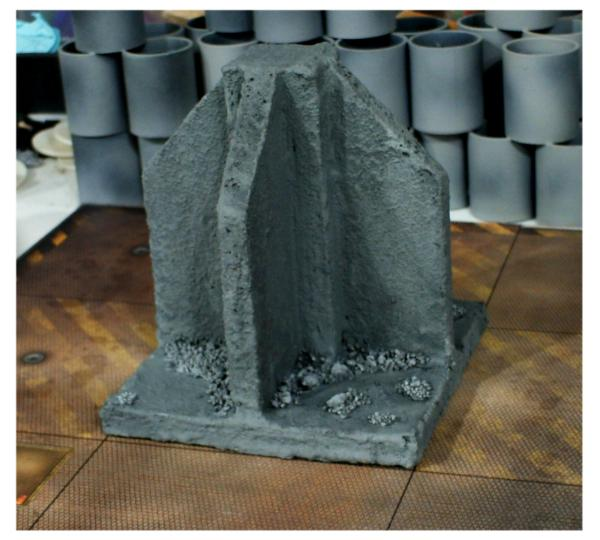 3 Awesome Ways to Make Wargaming Terrain (Cheap, Easy, and Free) - low cost cheap DIY wargaming terrain for Warhammer 40k, Age of Sigmar, and other tabletop games, DND terrain making, dungeon and dragon terrain for RPG - textured cardboard terrain with clay