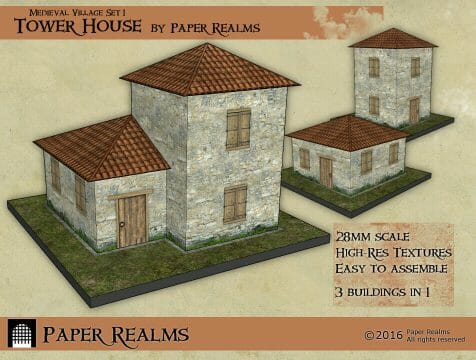 3 Awesome Ways to Make Wargaming Terrain (Cheap, Easy, and Free) - low cost cheap DIY wargaming terrain for Warhammer 40k, Age of Sigmar, and other tabletop games, DND terrain making, dungeon and dragon terrain for RPG - dropzone commander buildings 10mm scale