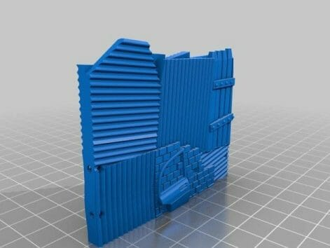 3 Awesome Ways to Make Wargaming Terrain (Cheap, Easy, and Free) - low cost cheap DIY wargaming terrain for Warhammer 40k, Age of Sigmar, and other tabletop games, DND terrain making, dungeon and dragon terrain for RPG - 3d printing terrain for gaming
