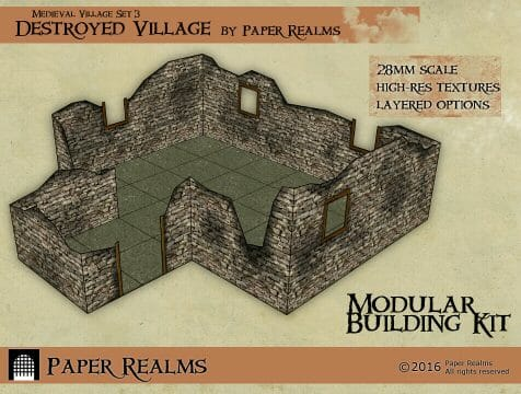 3 Awesome Ways to Make Wargaming Terrain (Cheap, Easy, and Free) - low cost cheap DIY wargaming terrain for Warhammer 40k, Age of Sigmar, and other tabletop games, DND terrain making, dungeon and dragon terrain for RPG - roleplaying D&D dungeon and dragons terrain and buildings