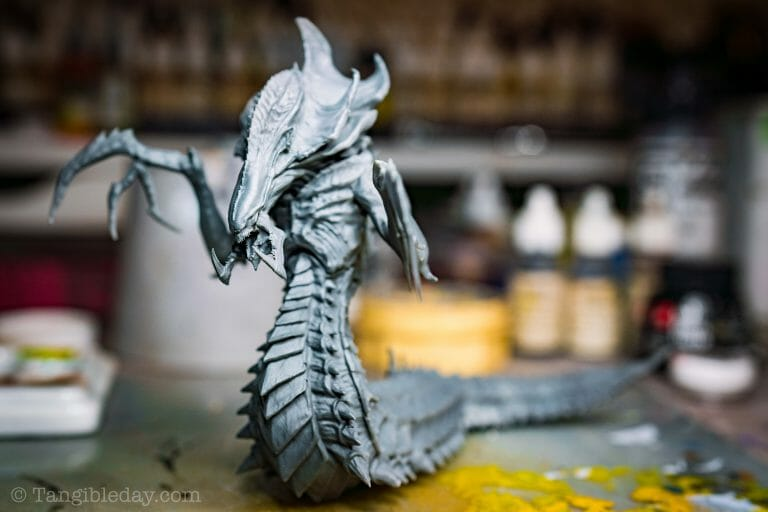 Top 3 Mistakes To Avoid When Priming Miniatures and Solutions -  tips for resolving and fixing primer issues on models - 3d printed model primer application