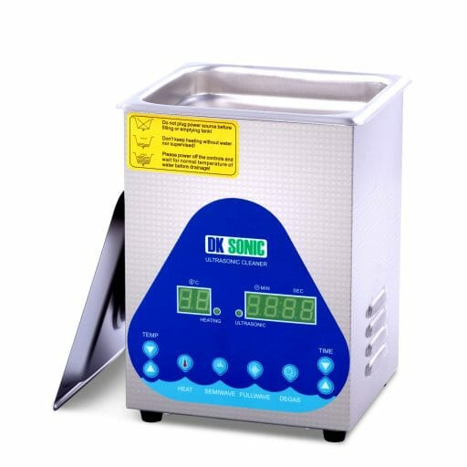 7 Great Ultrasonic Cleaners for Airbrushes and Miniatures - Best ultrasonic cleaner for airbrushes and miniatures - ultrasonic cleaners for cleaning miniatures and models - Digital Ultrasonic Gun Cleaner