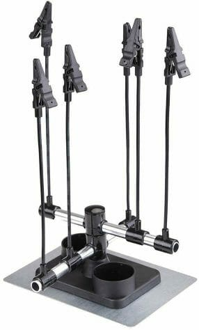 Best third hand soldering stand for assembling miniatures - Best helping hands for model trains and railroad kits