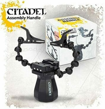 10 Great Helping Hands for the Miniature Hobbyist - third hand helper for assembling models - Citadel Assembly Handle - Best helping hands for model trains and railroad kits