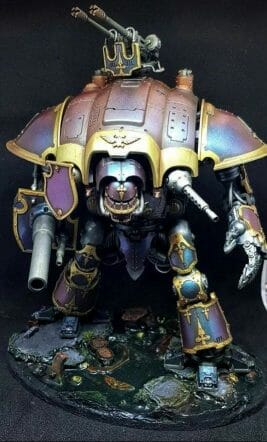 Imperial knight colorshift paint - best metallic paints for miniatures and models - Recommended metallics for painting minis