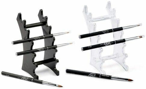 10 Fun Paint Brush Holders for Hobby Painters - acrylic paint brush stand set
