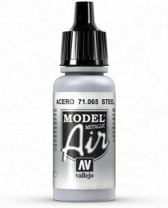 Vallejo model air steel metallic paint reviewed - airbrush or regular brush - Must-have best metallic model paint for painting miniatures and models
