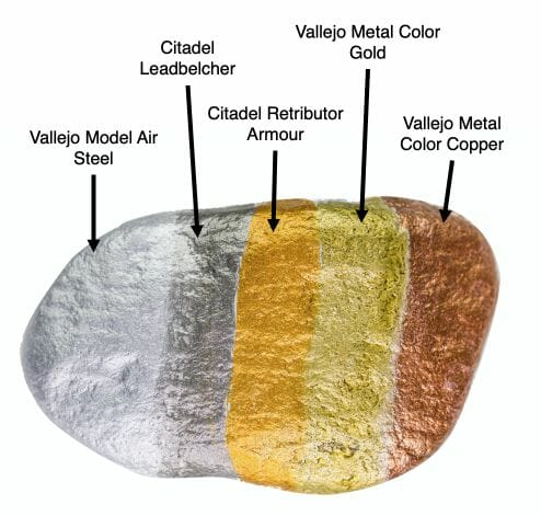 Water based acrylic metallics reviewed - Must-have best metallic model paint for painting miniatures and models -