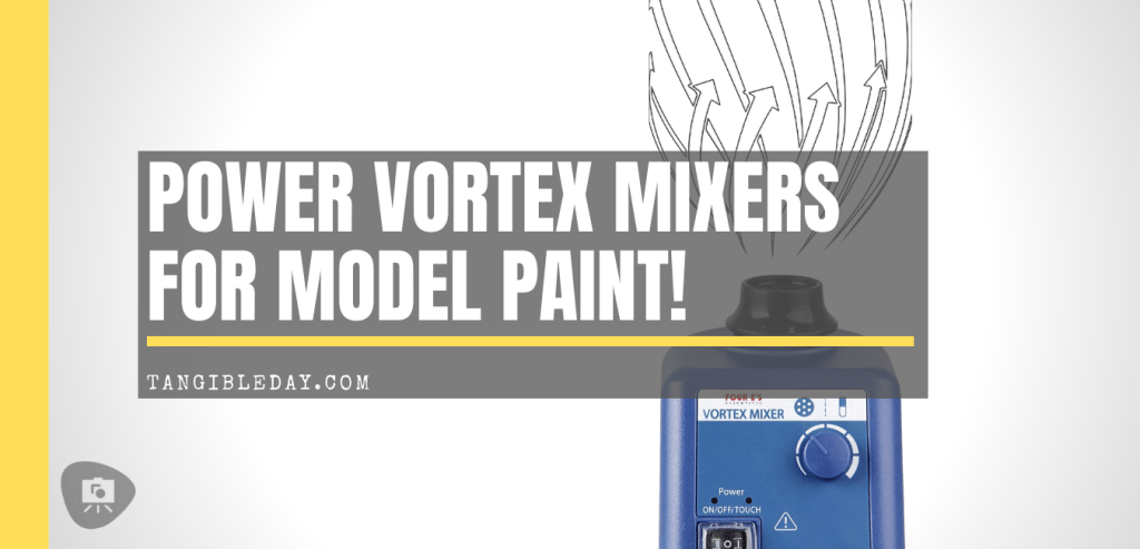 Mini vortex mixers for model and miniature paint - Best vortex mixer for hobby paints