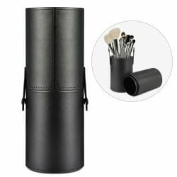Best paint brush storage tube - brush holders for painting miniatures and models - leather case