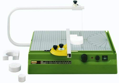 10 Best Hot Wire Foam Cutters for DIY Terrain (Tips and Guide) - Proxxon 37080 Hot Wire Cutter THERMOCUT tabletop cutters  - best hot wire foam cutters and knives - scale modeling and model building