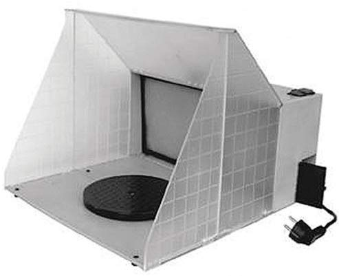Top 10 best spray booths for airbrushing miniatures and models - Best spray booth for airbrush use and spraying scale models - airbrush spray booth recommendation with tips - Paasche HSSB-16-13 Hobby Spray Booth review