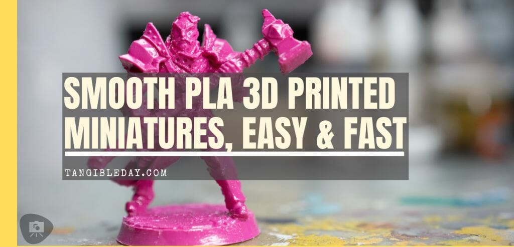 How to smooth 3D prints without sanding - PLA 3D print smoothing without primer filler sanding - how to get rid of 3D print lines