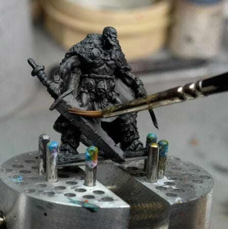 Best Alternative to Winsor & Newton Series 7 Brushes for Painting Miniatures - cheap sable kolinsky sable brushes for painting miniatures - good budget brushes for painting miniatures - reaper model painting