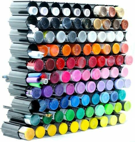 Hex Hive Craft Paint Storage Organizer