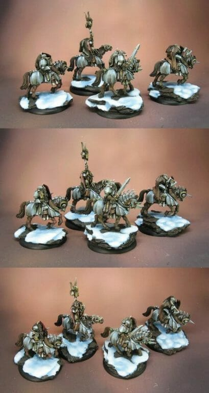 best oil paints for miniatures and models - oil paints for miniature painting and washes – how to use oil washes and filters for scale models – oil paint for painting miniatures - tutorial miniature painting with oils - james wappel oil painting chaos warriors