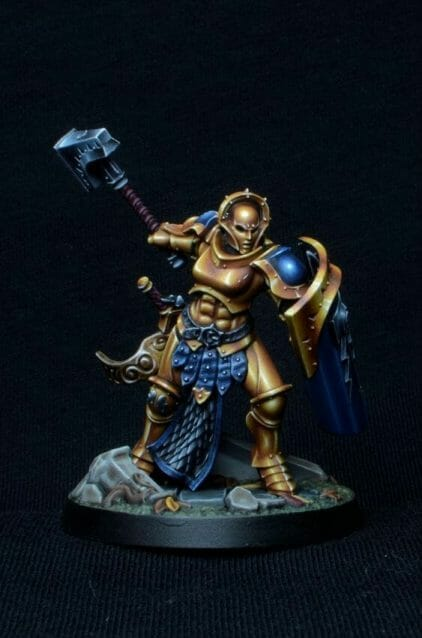 Stormcast Eternal Paint Schemes - 9 Color Motifs - how to paint stormcast eternals - color schemes for stormcast eternals, liberators, celestants, and other Age of Sigmar models from the Stormcast Eternal range - 9 color schemes for Stormcast Eternal models and miniatures from Citadel Games Workshop - studio color scheme nmm style for shadespire