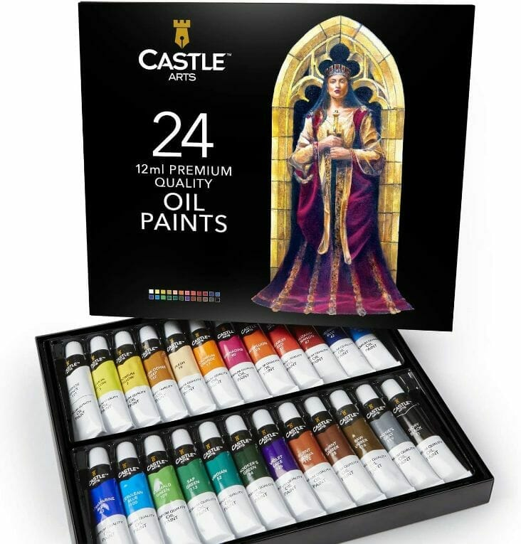 Castle-Art-Supplies-Oil-Paint-Set