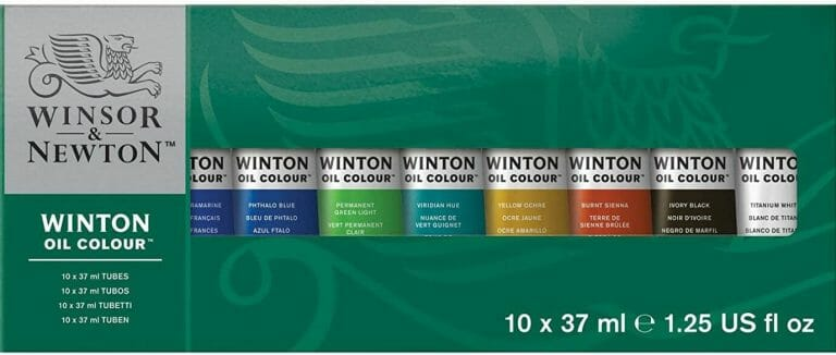 Best oil paints for miniatures and models - how to use oil paints for painting minis - miniature painting oils - painting miniatures with oil - best oil paint for miniature painting  -  winsor & newton winton oil paint colour review