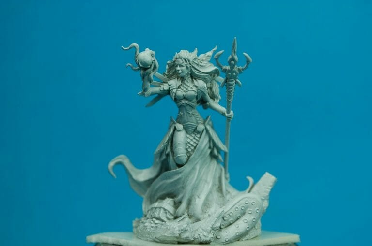 How to paint miniatures competitively – how to paint for competition – painting contest – how to win a painting contest – Marike Reimer miniature painting – interview with Marike Reimer about the Kraken Mistress – how to paint miniatures like a pro – how to paint miniatures professionally – best miniature painting tutorials – primed with Tamiya Surface Primer