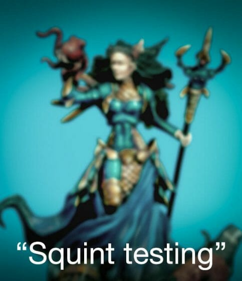 How to paint miniatures competitively – how to paint for competition – painting contest – how to win a painting contest – Marike Reimer miniature painting – interview with Marike Reimer about the Kraken Mistress – how to paint miniatures like a pro – how to paint miniatures professionally – best miniature painting tutorials – NMM painting with the squint test.