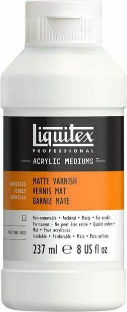 Liquitex matt varnish