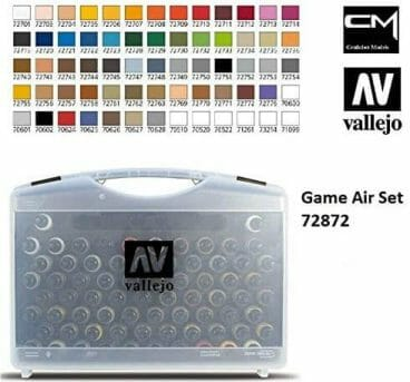 Best airbrush paint for miniatures and models – airbrush paints for models – miniature airbrush paint – review airbrush paint sets for models – citadel airbrush paint – painting multiple models with an airbrush quickly - vallejo game air colors worth it?