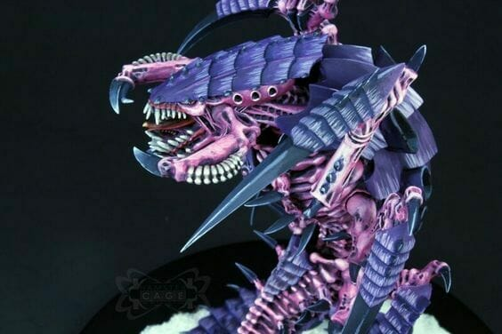 Tyranid color paint schemes – how to paint tyranids – tyranid paint schemes – tyranid army scheme – tyranid color scheme – How to choose Tyranid army color scheme – Tyranid Warhammer 40k colors – Hive fleet color schemes – Hive fleet paint scheme – purple light lavender