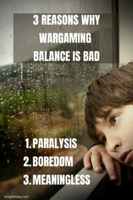 Wargame balance - how to balance wargames - wargaming balance is bad - game balancing - warhammer 40k balance - balancing wargames - the illusion of game balance - reasons why wargaming balance is bad