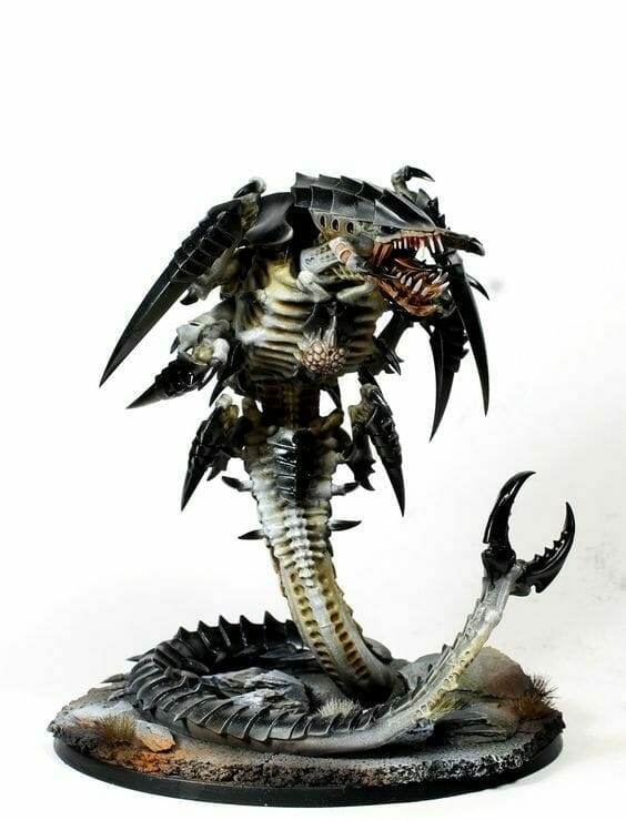 Tyranid color paint schemes – how to paint tyranids – tyranid paint schemes – tyranid army scheme – tyranid color scheme – How to choose Tyranid army color scheme – Tyranid Warhammer 40k colors – Hive fleet color schemes – Hive fleet paint scheme – Black bloody teeth