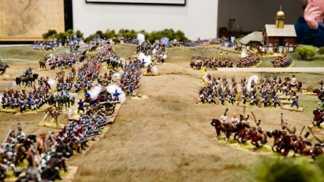 How to beat a bigger army with a smaller force - business wargaming - miniature wargaming strategy - principles for winning against bad odds - wargaming strategy for victory - miniature tabletop gaming - how to win against a larger army - Historical wargaming scale military gaming