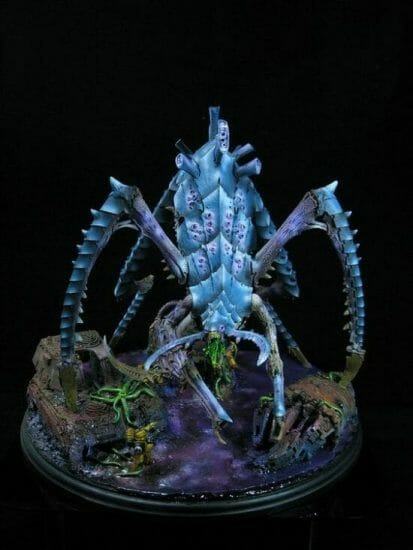 Tyranid color paint schemes – how to paint tyranids – tyranid paint schemes – tyranid army scheme – tyranid color scheme – How to choose Tyranid army color scheme – Tyranid Warhammer 40k colors – Hive fleet color schemes – Hive fleet paint scheme – neon blue