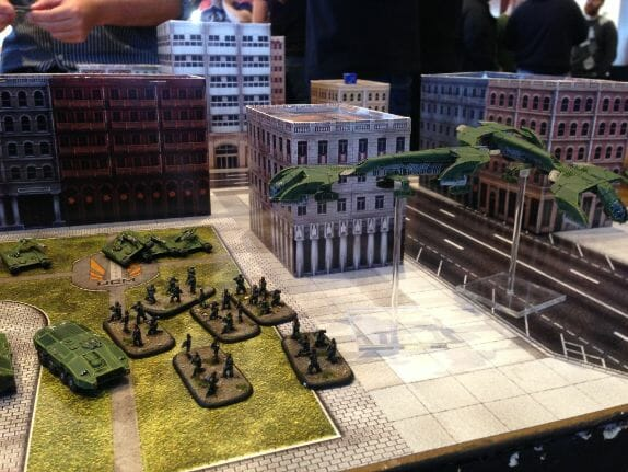 How to beat a bigger army with a smaller force - business wargaming - miniature wargaming strategy - principles for winning against bad odds - wargaming strategy for victory - miniature tabletop gaming - how to win against a larger army - dropzone commander